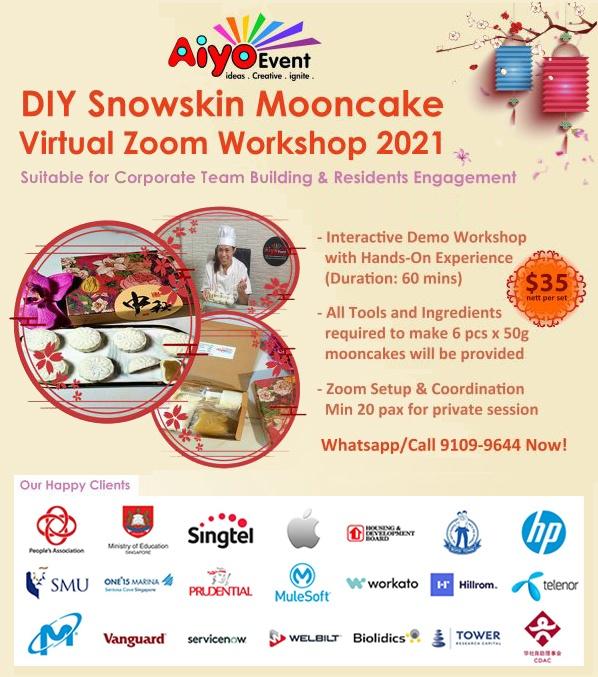 DIY Snowskin Mooncake Workshop