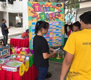 Tikam Tikam Carnival Game