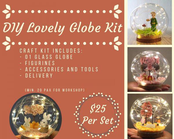 DIY Lovely Globe Workshop